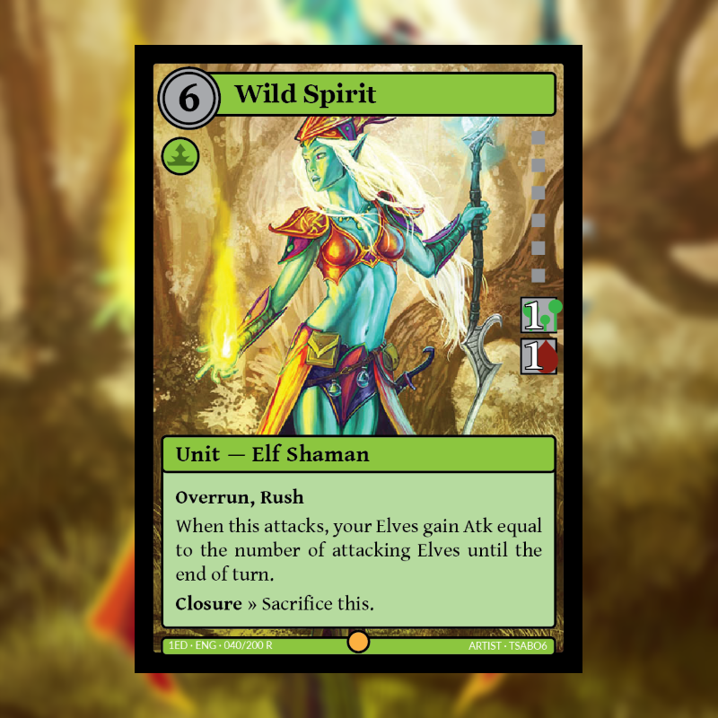 Card of the Day: Wild Spirit