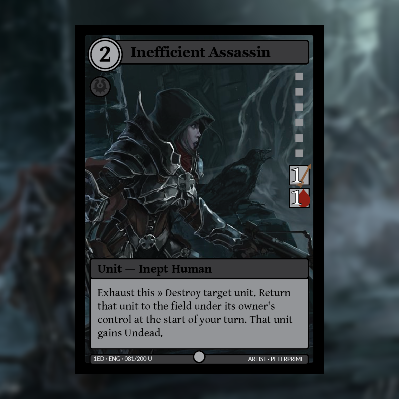 Card of the Day: Inefficient Assassin