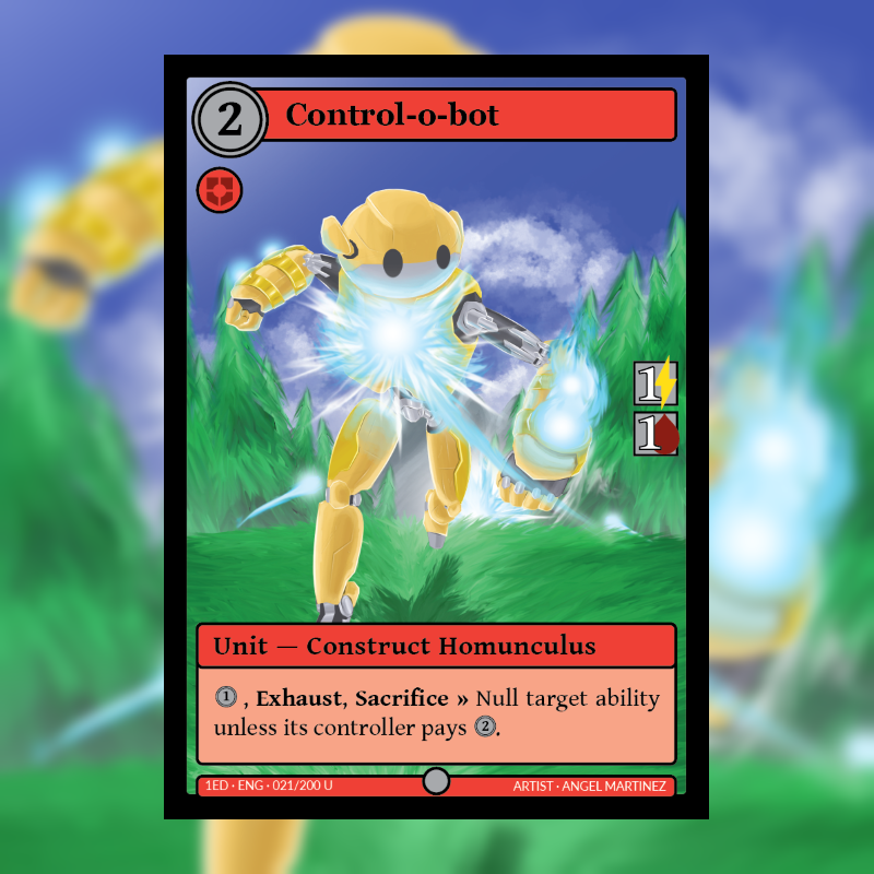 Card of the Day: Control-o-bot (Official Art)
